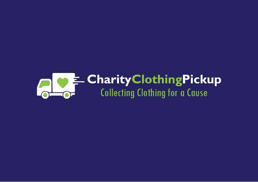 Contest Entry #                                        11                                      for                                         Charity Clothing Pickup Logo