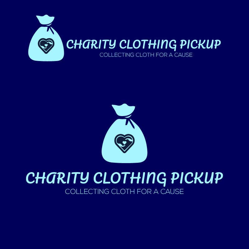 Contest Entry #                                        20                                      for                                         Charity Clothing Pickup Logo