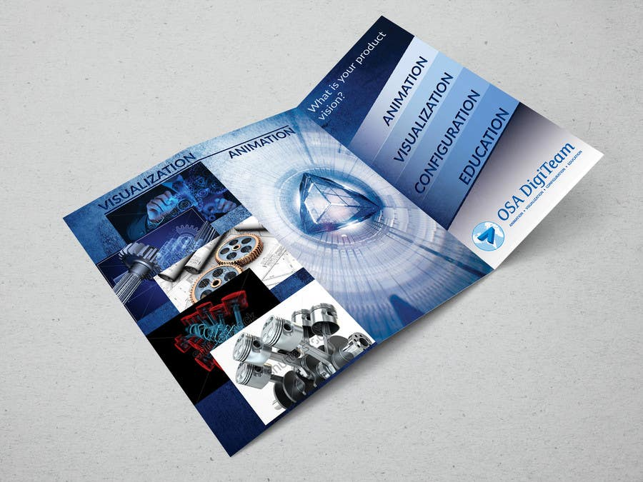 Entry #13 by todtodoroff for Urgent-style a 3-fold brochure for