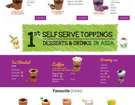 #19 for Design a Website Mockup for Bubble Tea business by Lakshmipriyaom