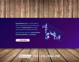 Nro 8 kilpailuun Banner design for technical platform käyttäjältä awaisahmedkarni