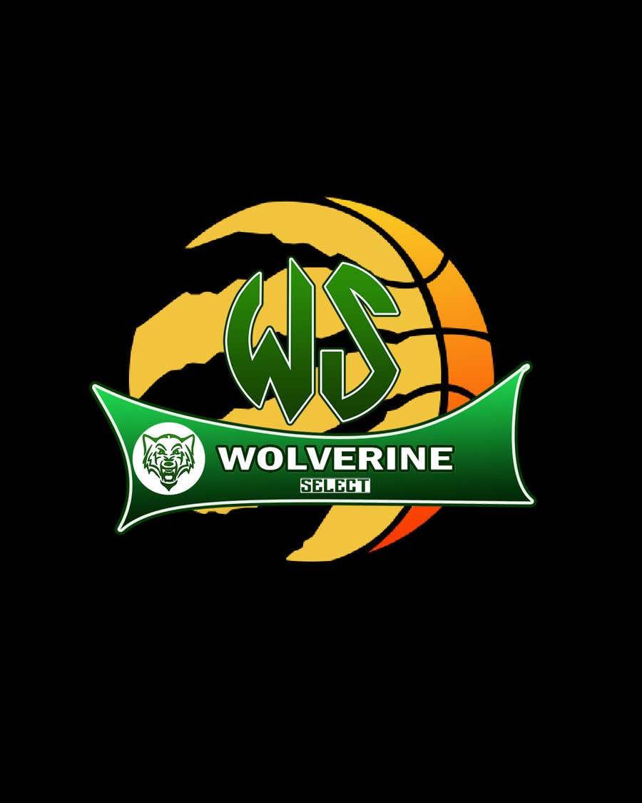 Konkurrenceindlæg #                                        39                                      for                                         Logo for Basketball team (Wolverine Select)