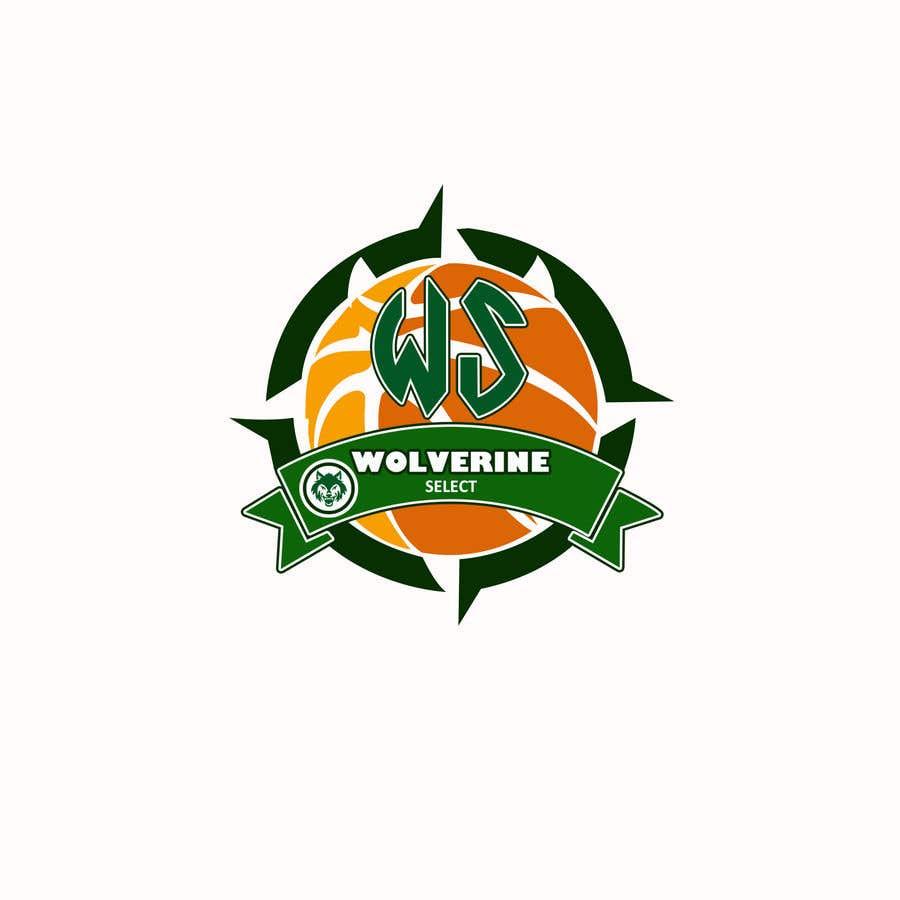 Konkurrenceindlæg #                                        41                                      for                                         Logo for Basketball team (Wolverine Select)