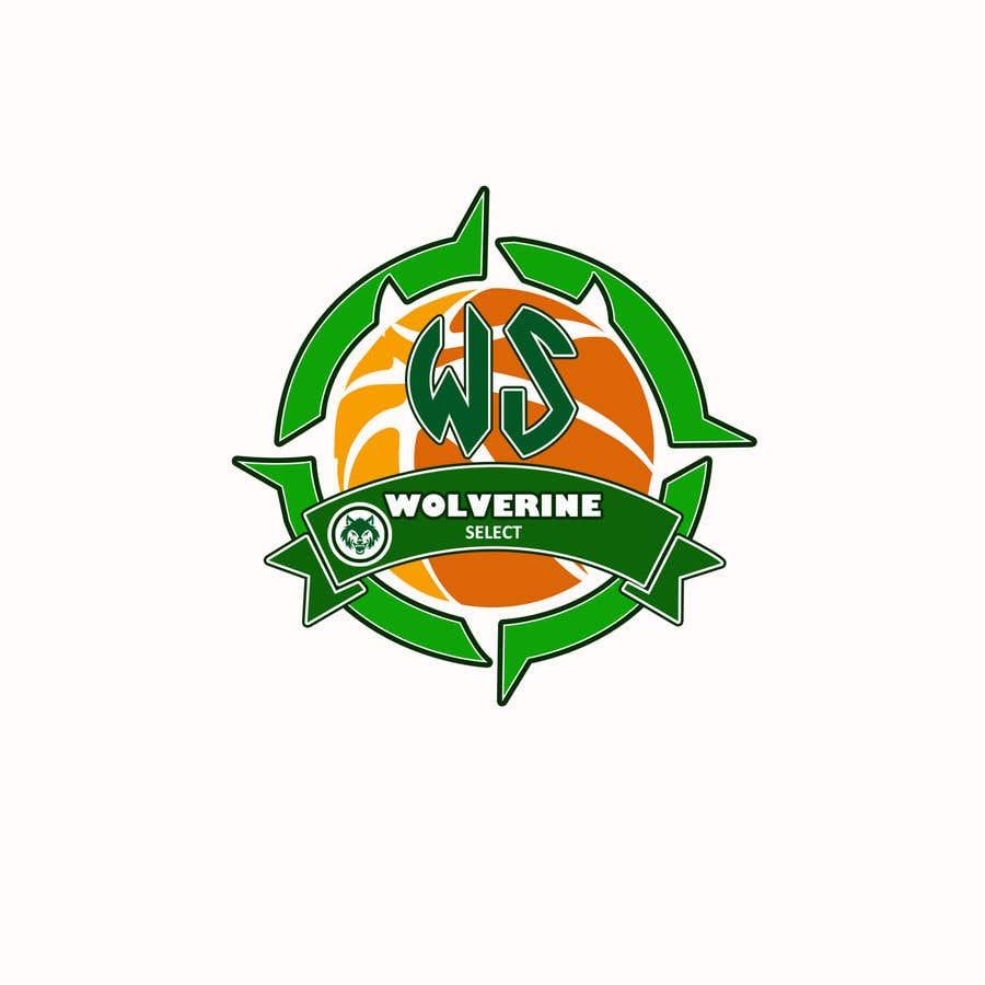 Konkurrenceindlæg #                                        42                                      for                                         Logo for Basketball team (Wolverine Select)