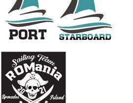 #22 for 3 logos in corel for a piarte and sailing inspired t-shirt by shamim8881
