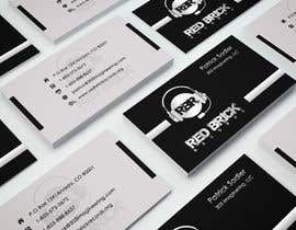 #20 untuk reDesign Business Card for red brick records oleh Deepika97