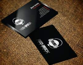 #15 untuk reDesign Business Card for red brick records oleh nazmulhassan2321