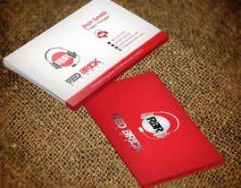 #16 untuk reDesign Business Card for red brick records oleh nazmulhassan2321