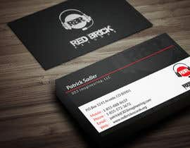 #24 untuk reDesign Business Card for red brick records oleh Fgny85