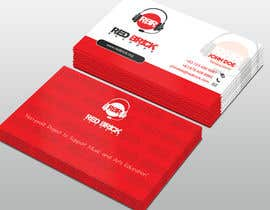 #19 untuk reDesign Business Card for red brick records oleh Derard