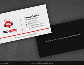 #2 cho reDesign Business Card for red brick records bởi arnee90