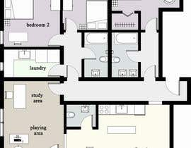 #7 for Floor plan for new flat ideas by pavly2010