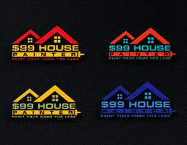 #150 cho $99 House Painter Logo bởi qureshiwaseem93