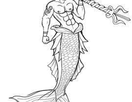 #46 cho Merman Vector Illustration bởi Animira