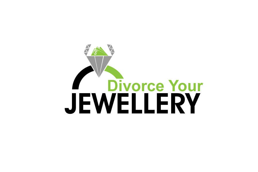 entry 33 by danumdata for logo design for divorce my jewellery