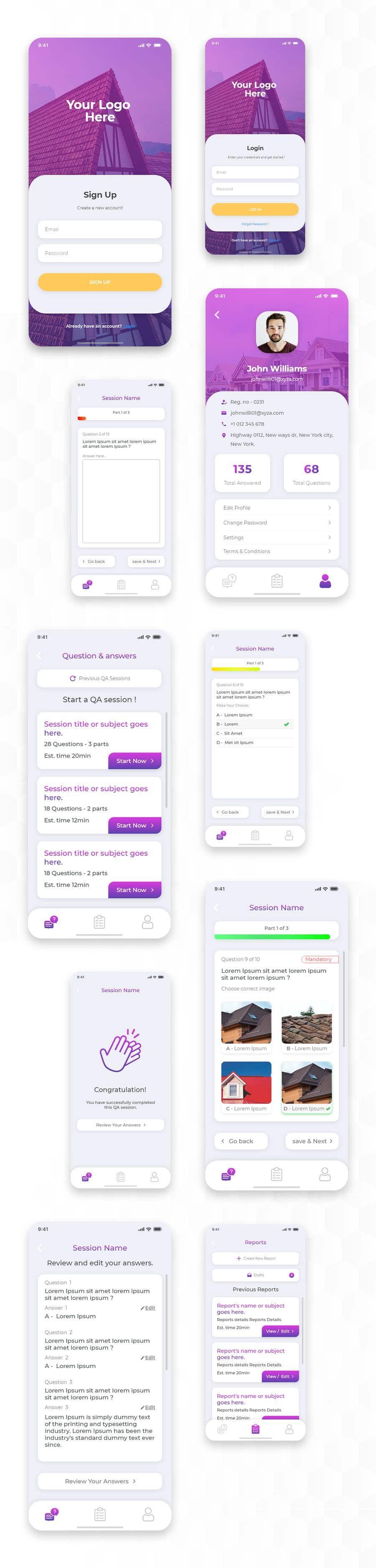 Penyertaan Peraduan #                                        54                                      untuk                                         Design me a Mobile App