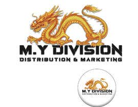 #57 for Design and draw a dragon logo for a sketch idea by RayhanUddin07