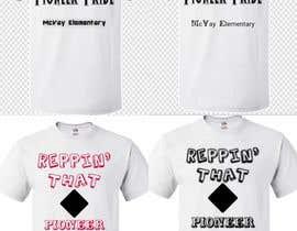 #82 para McVay Elementary Reppin that Pioneer Pride Tee Shirt logo por Salim2223