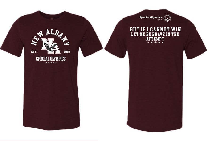 Konkurrenceindlæg #                                        42                                      for                                         New albany Special Olympics Tee Shirt Design