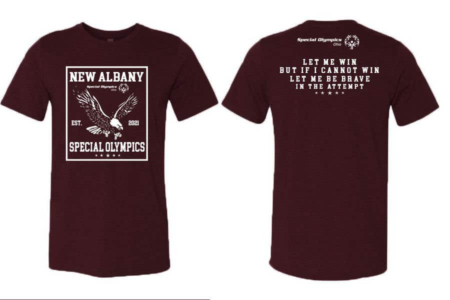Konkurrenceindlæg #                                        149                                      for                                         New albany Special Olympics Tee Shirt Design