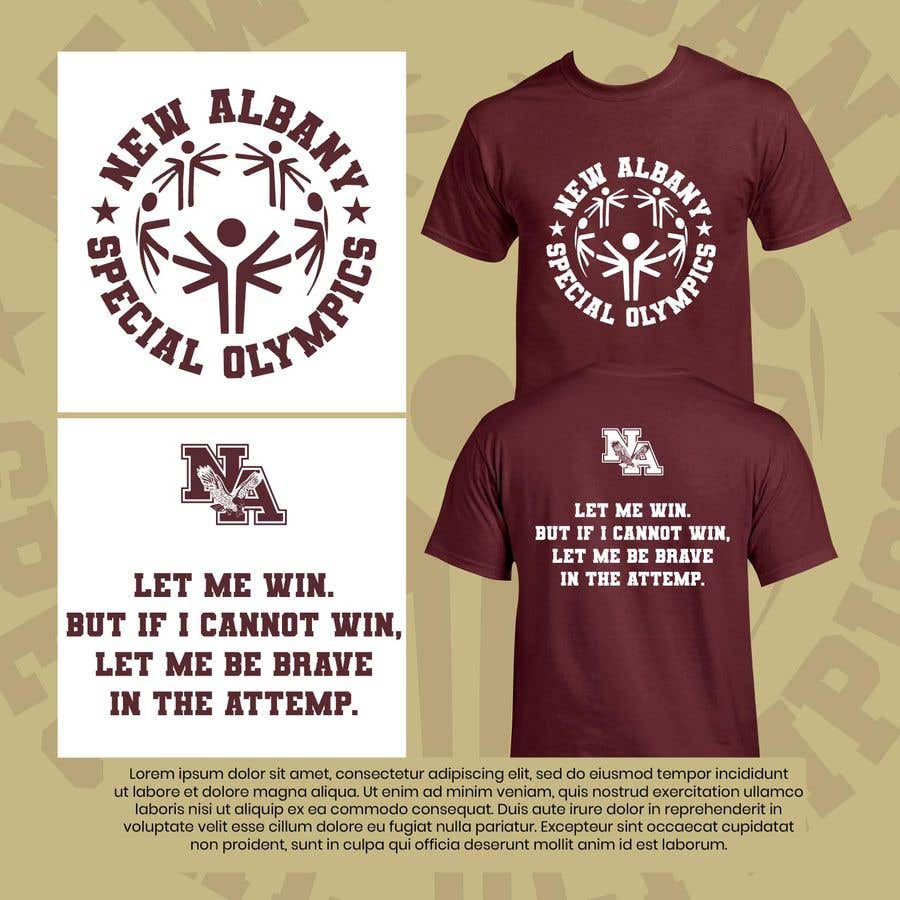 Konkurrenceindlæg #                                        41                                      for                                         New albany Special Olympics Tee Shirt Design