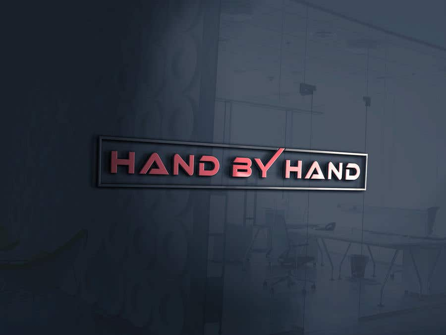 Kilpailutyö #                                        26                                      kilpailussa                                         Logo for a business setup company (  Hand by Hand )