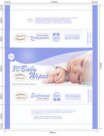 #6 cho Create Print and Packaging Designs for A Baby Wet Wipes bởi RainMQ