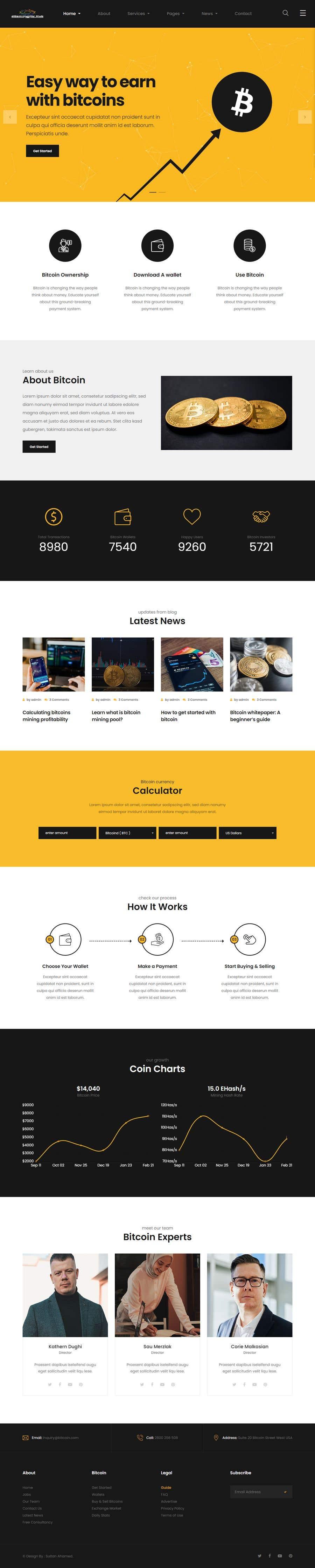 Penyertaan Peraduan #                                        11                                      untuk                                         Contest – Crypto Information Website Section: $100