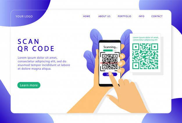 Contest Entry #                                        12                                      for                                         Develop a QR webapp for delivery