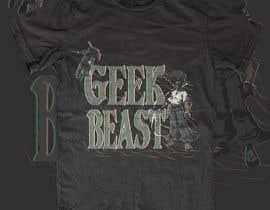 Abukawshik tarafından T-shirt Design for Geek/Tech content creator için no 36