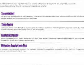 #10 for Website Bullet Point list Design by contrivance14