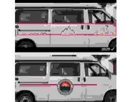 #13 for VW Bulli Camper VAN Sticker Design af malimali110