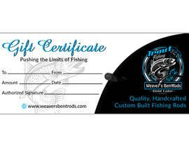 #6 for Gift certificate template by expectsign