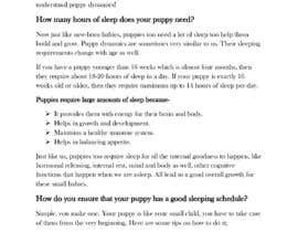 #34 para Write two blog articles about raising puppies (opportunity for long-term collaboration) por naohmelawrence