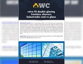 lupaya9 tarafından design a flyer for wellington construction glazing için no 97