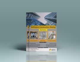 shark4designer tarafından design a flyer for wellington construction glazing için no 95