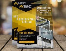 graphymehfooz tarafından design a flyer for wellington construction glazing için no 91