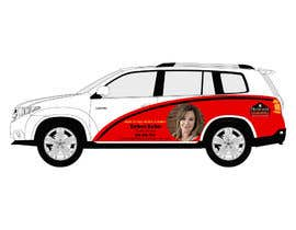 #36 for Partial vehicle wrap design by ishtiaquesoomro1