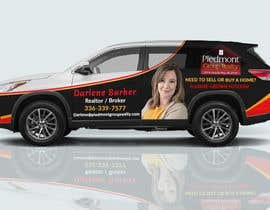 #30 for Partial vehicle wrap design by Fardos20