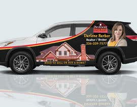 #34 for Partial vehicle wrap design by Fardos20