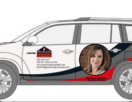 #40 for Partial vehicle wrap design by DesignersExpert