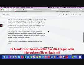 #14 untuk Add German text to English video oleh mdsaad933
