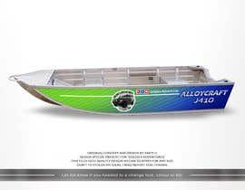 #14 untuk Custom boat wrap oleh SAKTI2