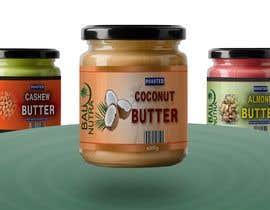 #59 for Food Label design (4 x flavors of Butter, Almond, Peanut, Cashew, Original) af romenkhan