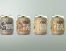 #13 for Food Label design (4 x flavors of Butter, Almond, Peanut, Cashew, Original) af kalnienk
