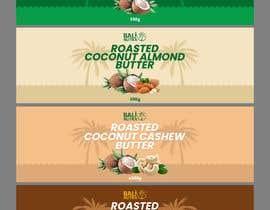 #10 for Food Label design (4 x flavors of Butter, Almond, Peanut, Cashew, Original) af abramwidiantoro