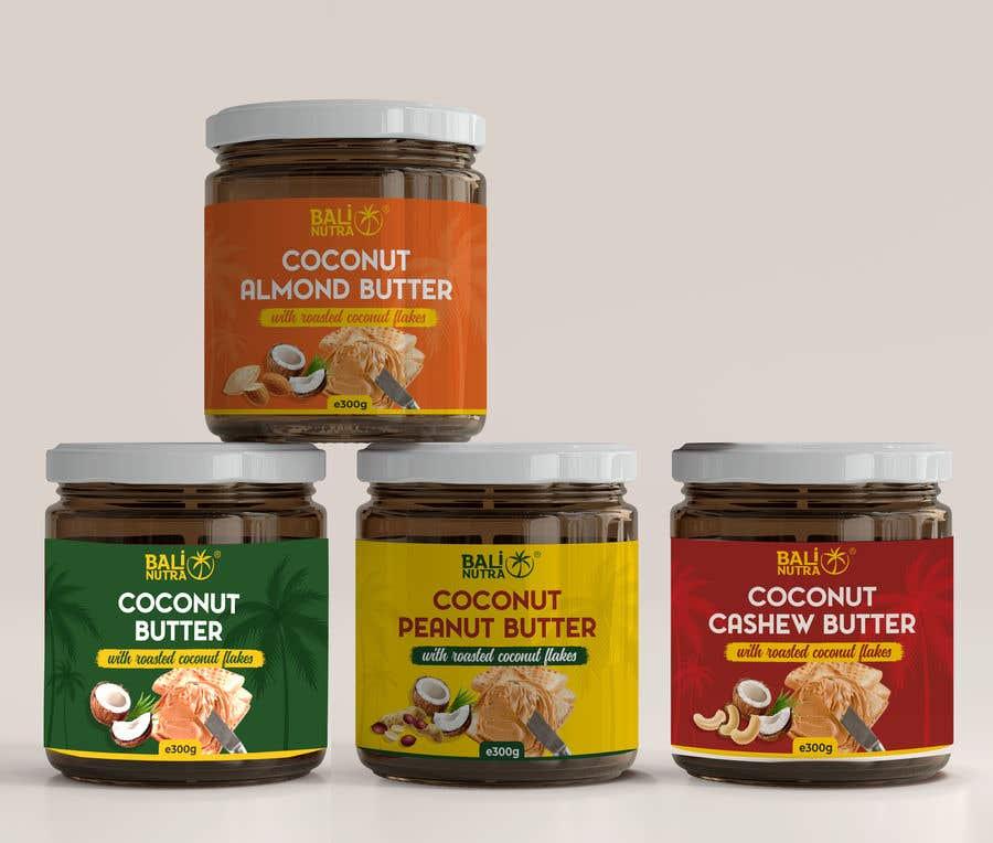 Konkurrenceindlæg #                                        53                                      for                                         Food Label design (4 x flavors of Butter, Almond, Peanut, Cashew, Original)