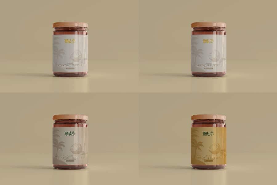 Konkurrenceindlæg #                                        56                                      for                                         Food Label design (4 x flavors of Butter, Almond, Peanut, Cashew, Original)