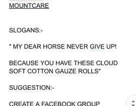 Nro 21 kilpailuun Help me to find marketing ideas for a cotton gauze roll for horses käyttäjältä Nomaanpatel313