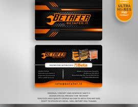 Nro 37 kilpailuun Design biglietti da visita betafer.it käyttäjältä SAKTI2